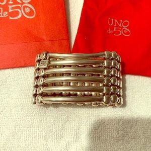 Uno de 50 cuff bracelet